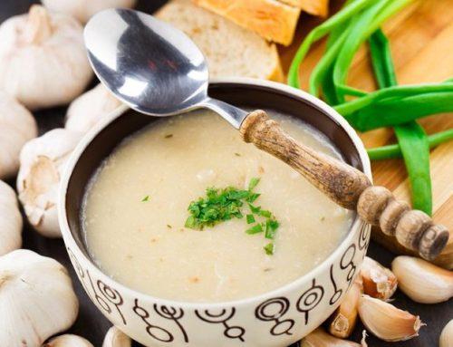 Crema de ajo como antibiótico natural
