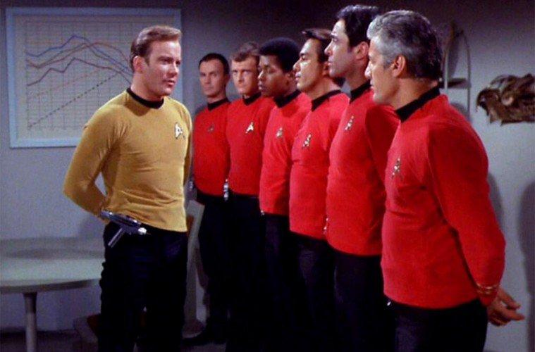 el secreto de las camisetas rojas